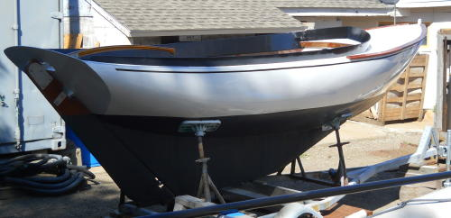 ... Aluminum, Tumblehome Design. In Short, If This Curvy Little Boat Can Be  Built Using The U0027Bezier Chineu0027 Construction Method, Any Other True Round  Hull ...